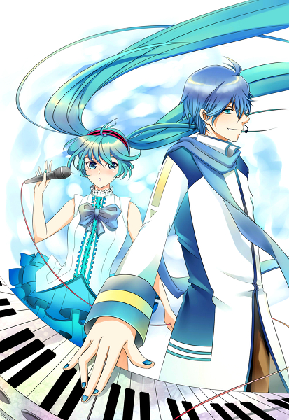 Miku Singing in English Kaito Append And English Miku