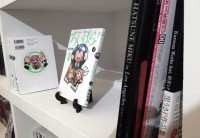 VOCALOID books on display.