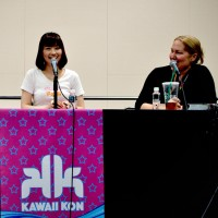 Shimoda and Wilkerson at the Friday panel